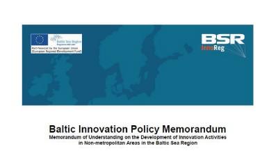 BSRInnoReg – Baltic Innovation Policy Memorandum