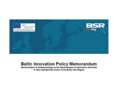 BSRInnoReg – Baltic Innovation Policy Memorandum