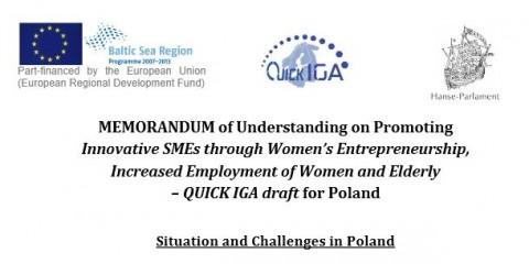 Promoting Innovative SMEs through Women's Entrepreneurship